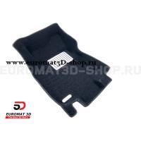 Текстильные 5D коврики с высоким бортом Euromat3D в салон для Nissan X-Trail (T32) (2015-) № EM5D-003724